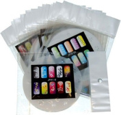 AIRBRUSH NAIL STENCIL SET # 1 PACKAGE OF 20 NAIL TEMPLATES Custom Shop