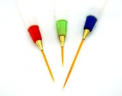 3 Nail Art brushes Brush Pen, Detailer, Liner and Striper