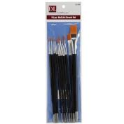 Debra Lynn Professional 10 pcs. Acrylics Nail Brush Set