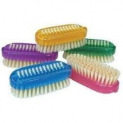 Kingsley Coloured Plastic Nail Brush brush