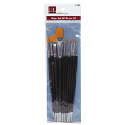 Pro Nail Art Brush 10 Piece Set