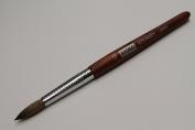 Kyoko Finest 100% Pure Kolinsky Brush, Size # 10, Made in Japan, Original Wood Handle