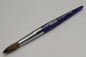 Kyoko Finest 100% Pure Kolinsky Brush, Size # 14, Made in Japan, Blue Marble Handle