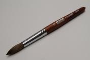 Kyoko Finest 100% Pure Kolinsky Brush, Size # 18, Made in Japan, Original Wood Handle