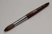 Kyoko Finest 100% Pure Kolinsky Brush, Size # 22, Made in Japan, Original Wood Handle