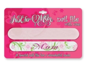 Just for Mom Nail File with Case