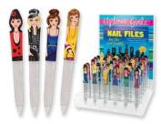 New Uptown Girlz Nail File Professional Manicure Girl !