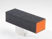 Dixon Buffer Block Orange Black Grit 3 Way 100/180 12pcs