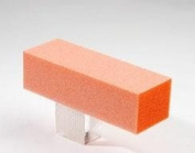 Dixon Buffer Block Orange White Grit 3 Way 100/180 12pcs