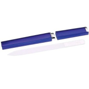 NAIL TEK Regular Size Crystal File with Cobalt Blue Case