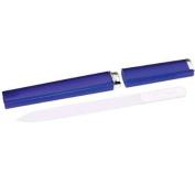 NAIL TEK Regular Size Crystal File with Cobalt Blue Case