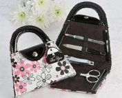 Perfectly Polished Purse Manicure Set - Bridal Shower Favours - Wedding and Party Favour Guest Keepsake Gift
