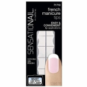 """Sensationail French Manicure Tips""""ONLY"""" #71710"""