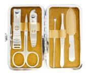 6 Pcs Personal Manicure & Pedicure Set, Travel & Grooming Kit