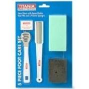 Titania Foot Care Set, 5-Piece - 1 set