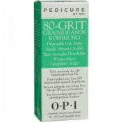 OPI Pedicure Disposable Grit Strips 80g Refills 20-ct.