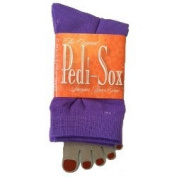Pedi-Sox Solid Purple