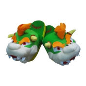 New Super Mario Bowser Plush Slipper Soft King Koopa Stuffed Funny Gift Collect
