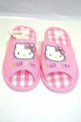 Pink Hello Kitty Spa Slippers