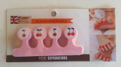 Toe Separators Keeps Toes Separated to Avoid Smudging 1pc. M