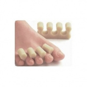 Polyfoam Toe Combs Cushions, One Size Fits Most, 12/package for Pedicure and Blister Relief