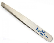 Eyebrow Tweezers Stainless Steel Slant Tip Finish