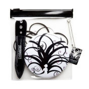 Paname-Paris -Depilation beauty kit - Tweezers and Mirrors for handbag. Elements
