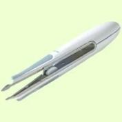 """Easy Grip Tweezers Slant Tip 43.4"""" (12cm) tweezers"""