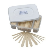 Satin Smooth Disposable Wooden Applicators