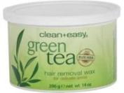 Clean + Easy Soft Wax Green Tea with Aloe Vera, 410ml