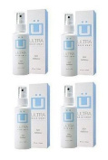 Ultra Hair Away (4 ~ 120ml Bottles) Hair Inhibitor - Permanent Hair Remover -