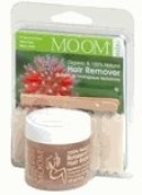 Moom Hair Removal Organic Face/Travel Kit Ct