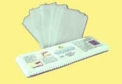REUSABLE WAXING STRIPS Pack of 40 Muslin Strips, large size 7.6cm x 23cm