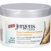 Jergens Crema Deep-Conditioning Cream, Oatmeal, 240ml