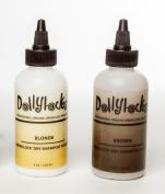"Dollylocks 120ml Dark/Brown Dreadlock ""Dry Shampoo"" Locking Powder"