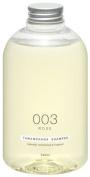 TAMANOHADA SOAP | Shampoo | 003 Rose 540ml, Non Silicon