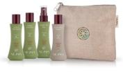 Neuma Travel Bag - Renew Shampoo 70ml, Renew Conditioner 70ml, Tangle me Free 70ml, Blow Dry Lotion 70ml