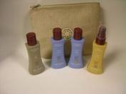 Neuma Travel Bag - Moisture Shampoo 70ml, Moisture Conditioner 70ml, Smoothing Creme 70ml, Argan Treatment 70ml