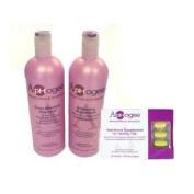 Aphogee Deep Moisture Shampoo & Balancing Moisturiser 470ml with Healthy Hair Vitamins