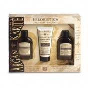 Athenas Erboristica Argan Oil Gift Set - Hair & Body Shower Gel, Body Cream, Hair Conditioner