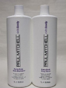 Paul Mitchell Extra Body Daily Rinse 1000ml Shampoo + 1000ml Conditioner
