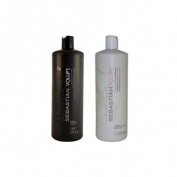 Sebastian Volupt Shampoo and Conditioner Litre Duo