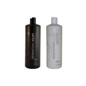 Sebastian Volupt Shampoo and Conditioner Litre Duo