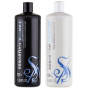 Sebastian Trilliance Shampoo 1000ml + Conditioner 1000ml DUO SET