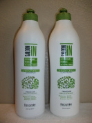 NEW Saloon in Certified Organic Green Forest Shampoo & Conditioner 1000ml