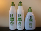 Saloon in Certified Organic Botanicals Shampoo, Conditioner & Leave on Treatment 300ml