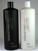 Sebastian Light 950 ml Shampoo + 950 ml Conditioner