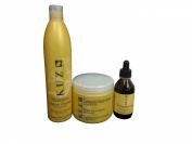 Kuz Growth Factor Shampoo, Mask, Treatment SET