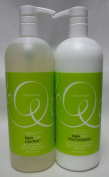 Deva Curl Low-Poo Mild Leather Cleanser and One Condition Ultra Creamy Daily Conditioner Duo 950ml