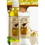 Mistine Royal Honey Jelly 500ml.shampoo and 150ml.conditioner.
